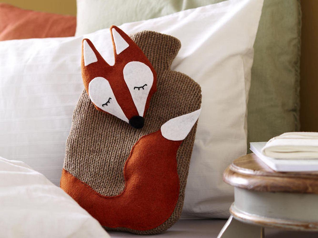 Wärmflasche Fuchs