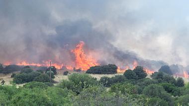 Waldbrand in Griechenland - Foto: iStock/summerphotos
