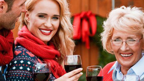weihnachten mit schwiegereltern h - Foto: iStock