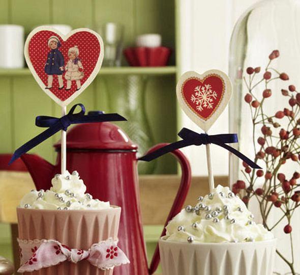Weihnachtliche Cupcakes - Foto: deco&style