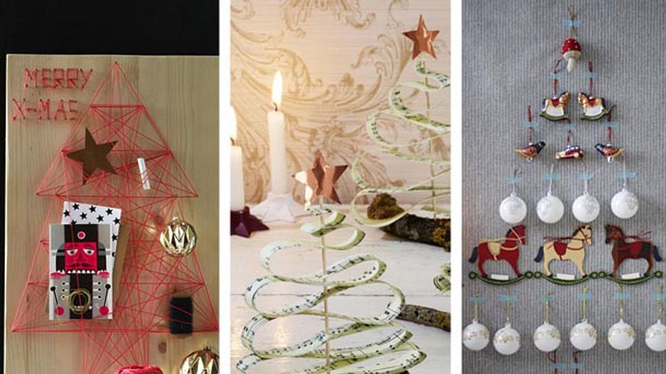 Weihnachtsbaum Alternativen - Foto: deco&style