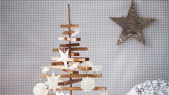 weihnachtsbaum selbermachen - Foto: deco&style