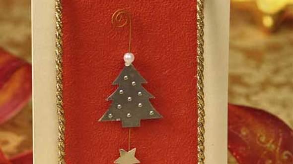 weihnachtskarten basteln - Foto: deco&style