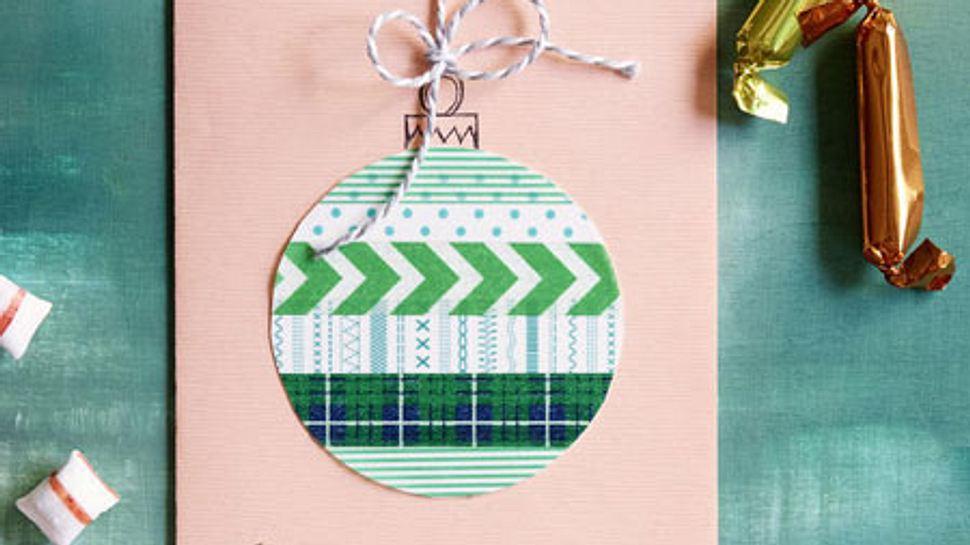 weihnachtskarten selber basteln - Foto: deco&style