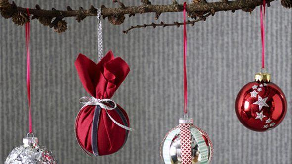 weihnachtskugeln basteln - Foto: deco&style