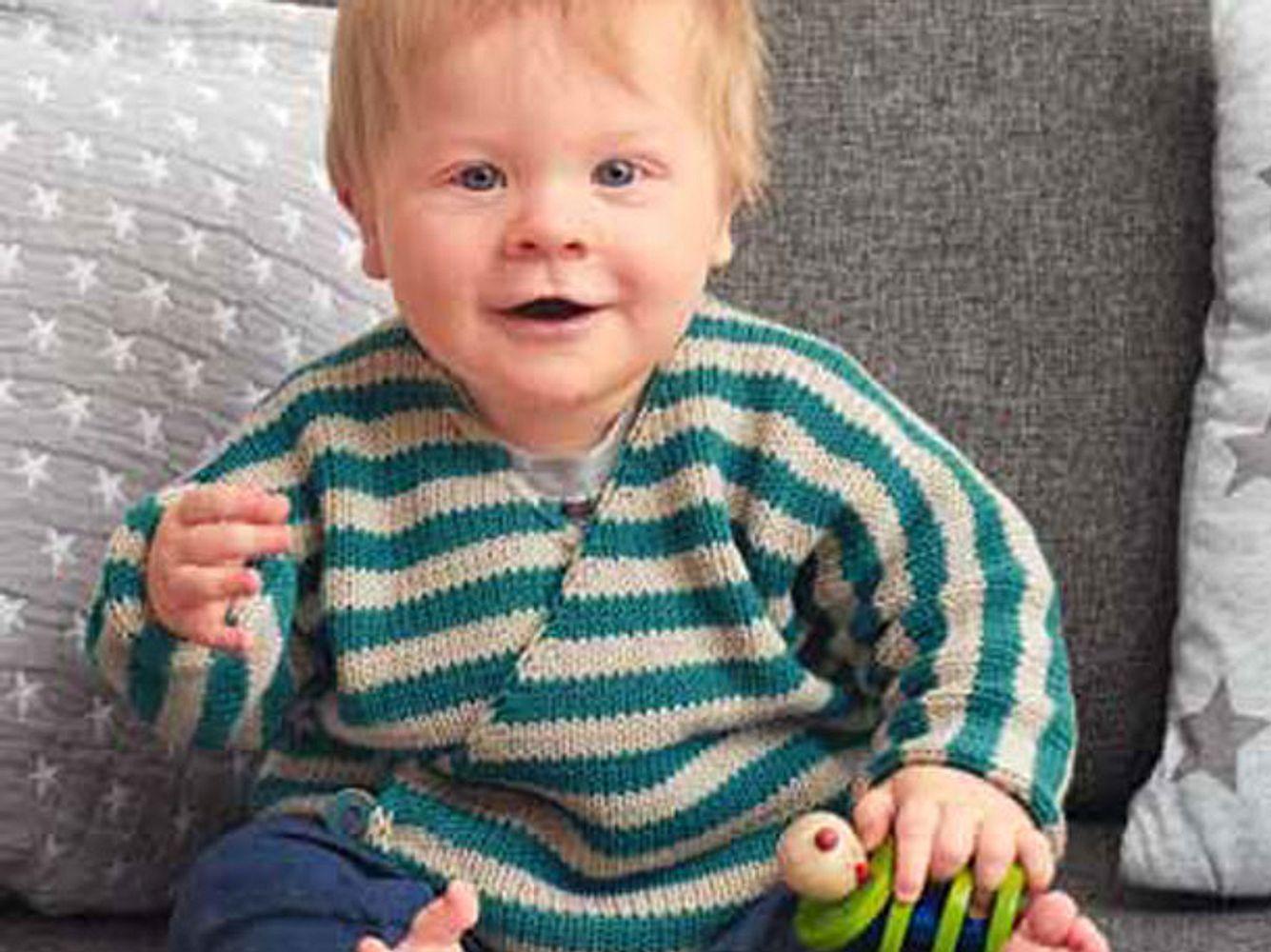 Wickeljacke für Babys stricken