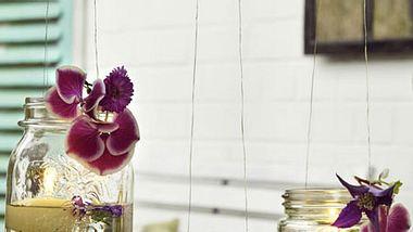 windlicht dekoration selbermachen - Foto: deco&style