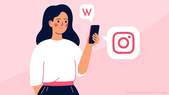 Folge Wunderweib.de auf Instagram - Foto: Collage mit Ponomario_Maria/iStock und Wunderweib.de