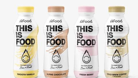 YFOOD gibt es in vier Geschmacksrichtungen - eine Flasche soll eine Mahlzeit ersetzen. - Foto: PR: YFOOD